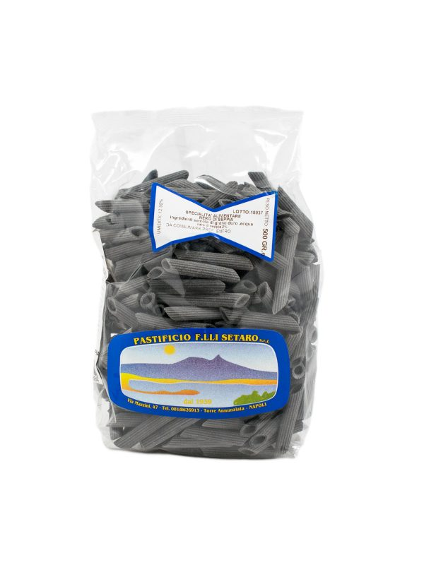 Penne Rigate al Nero di Seppia - Pastas, Rice, and Grains - Buon'Italia