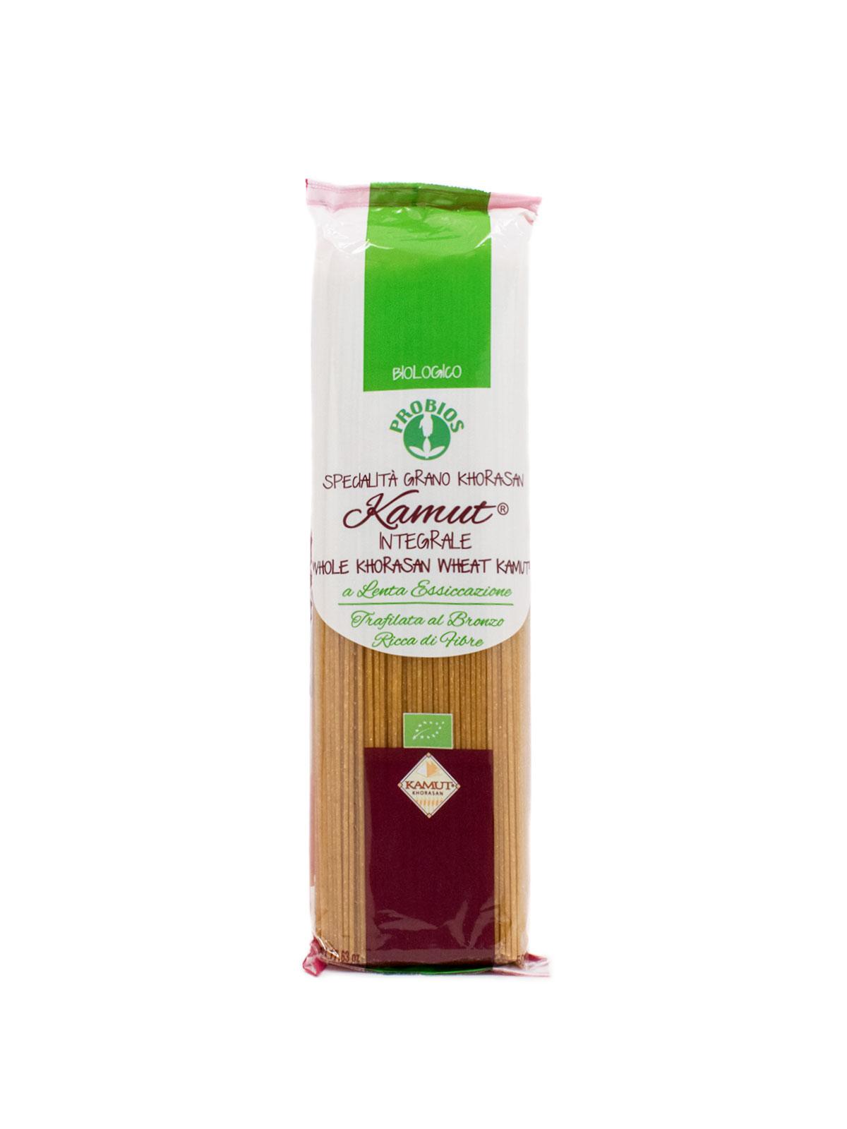 Whole Kamut Spaghetti- Pastas, Rice, and Grains - Buon'Italia