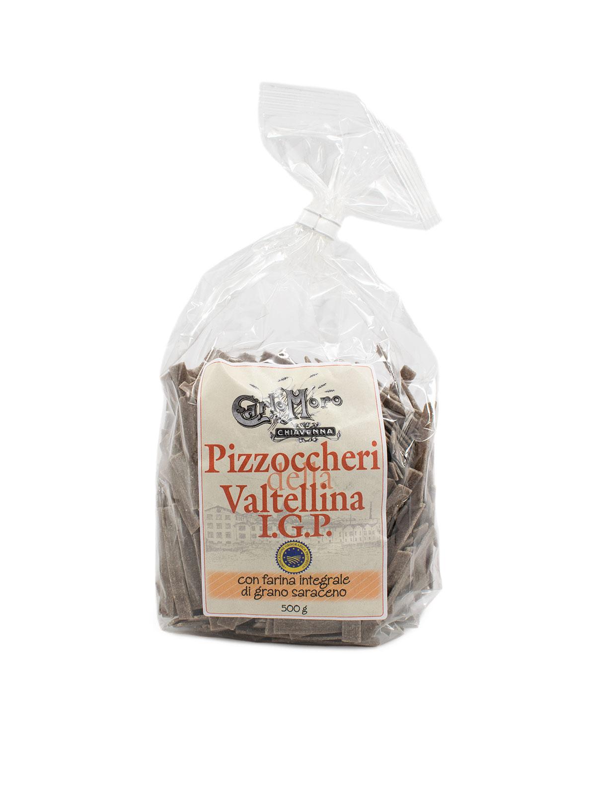 Buckwheat Pizzoccheri Della Valtellina- Pastas, Rice, and Grains - Buon'Italia