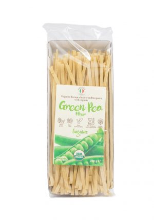Linguine with Organic Green Pea Flour - Pastas, Rice, and Grains - Buon'Italia