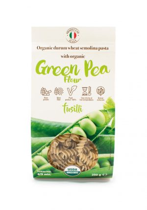 Fusilli with Organic Green Pea Flour - Pastas, Rice, and Grains - Buon'Italia