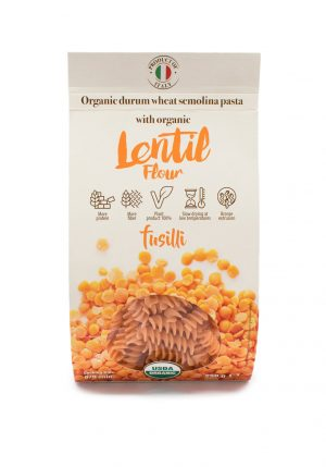 Fusilli with Organic Lentil Flour - Pastas, Rice, and Grains - Buon'Italia