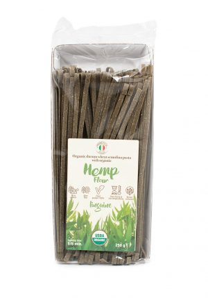 Linguine with Organic Hemp Flour - Pastas, Rice, and Grains - Buon'Italia