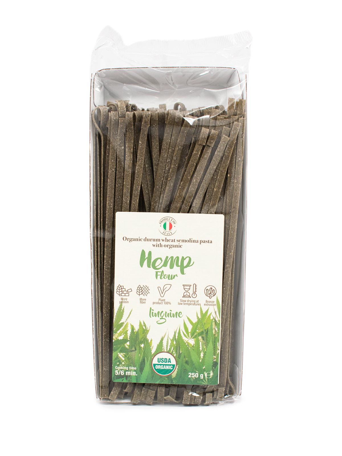 Linguine with Organic Hemp Flour - Pastas, Rice, and Grains - Buon'Italia