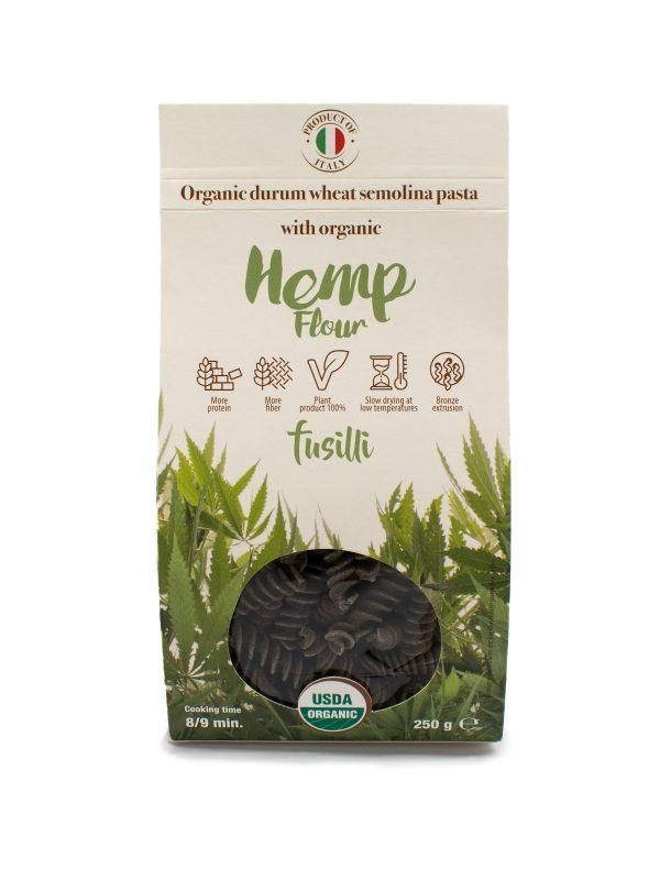 Fusilli with Organic Hemp Flour - Pastas, Rice, and Grains - Buon'Italia