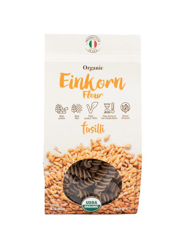 Fusilli with Organic Einkorn Flour - Pastas, Rice, and Grains - Buon'Italia