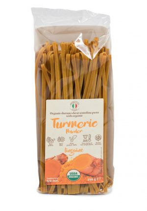 Linguine with Organic Turmeric Flour - Pastas, Rice, and Grains - Buon'Italia