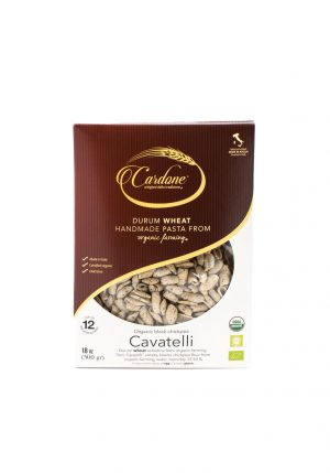 Organic Black Chickpea Cavatelli - Pastas, Rice, and Grains - Buon'Italia