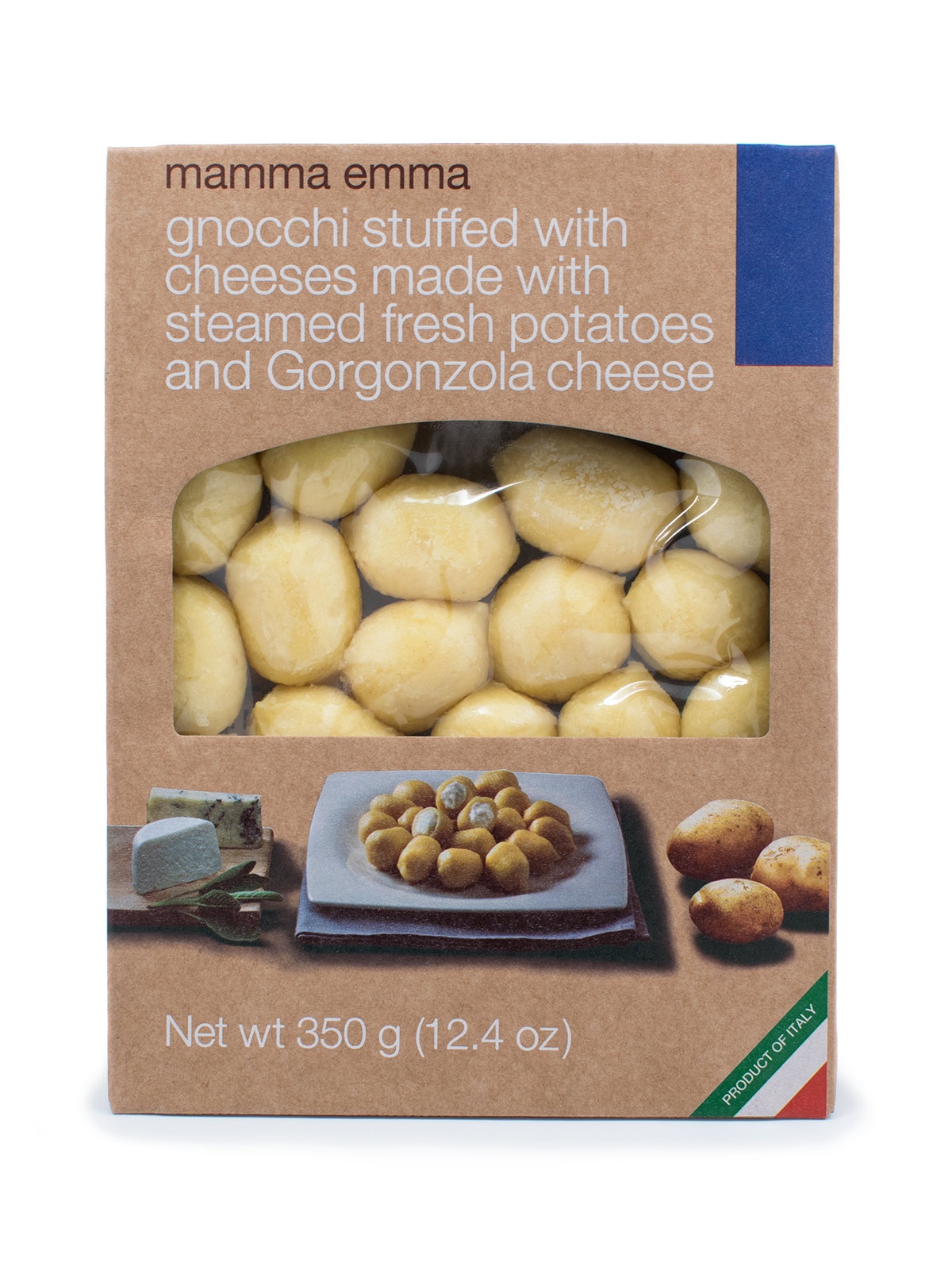 Mamma Emma Potato Gnocchi Filled with Cheese - Pastas, Rice, and Grains - Buon'Italia