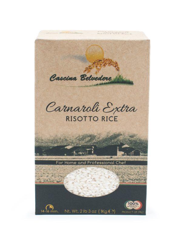 Organic Carnaroli Risotto Rice - Pastas, Rice, and Grains - Buon'Italia