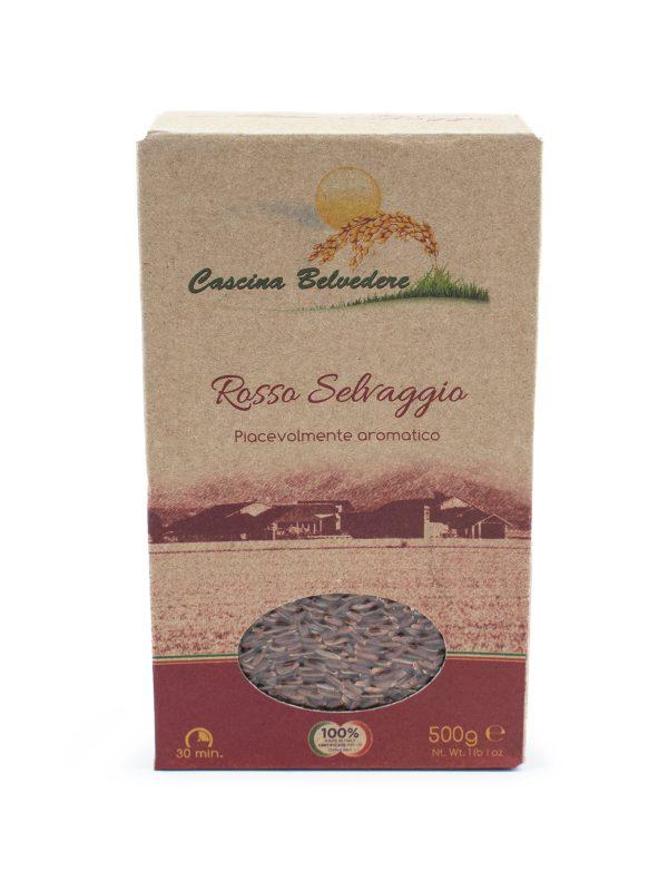 Organic Red Rice - Pastas, Rice, and Grains - Buon'Italia