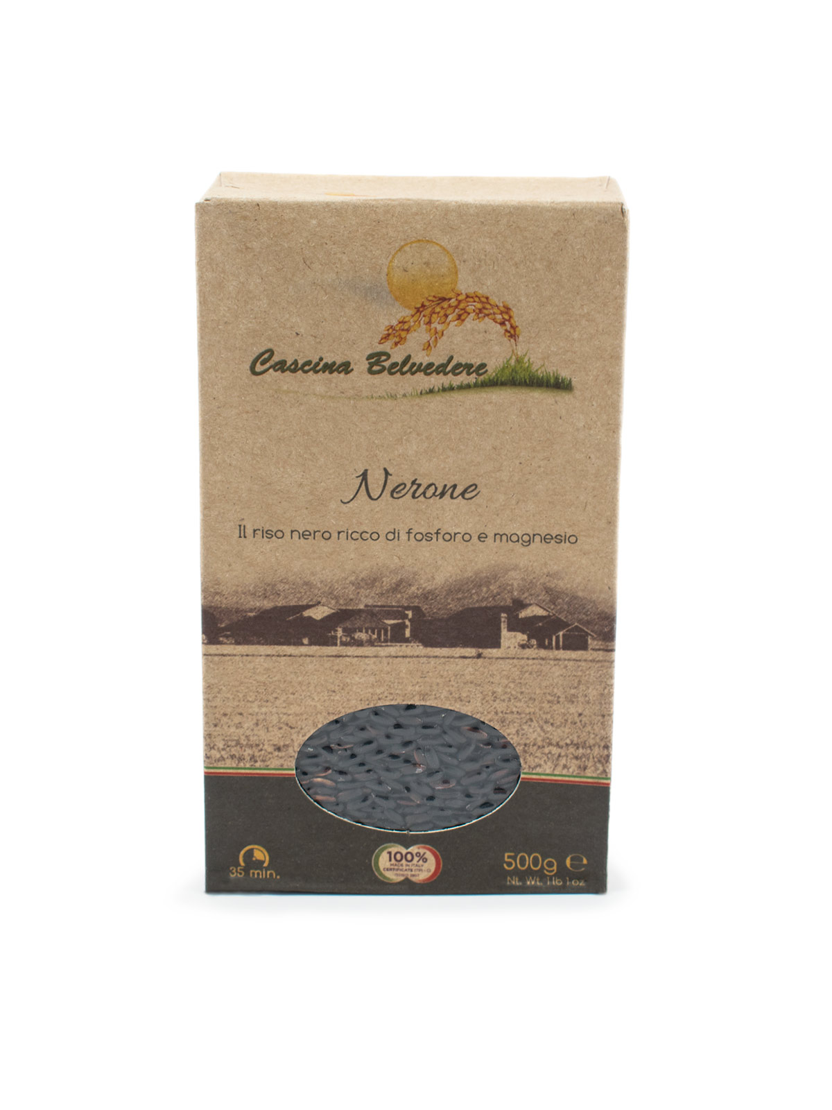 Organic Black Rice - Pastas, Rice, and Grains - Buon'Italia