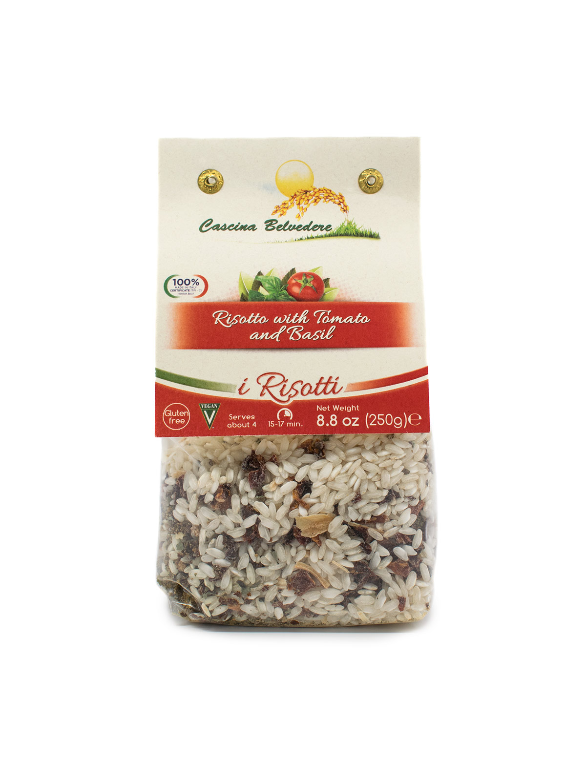 Tomato and Basil Risotto - Pastas, Rice, and Grains - Buon'Italia
