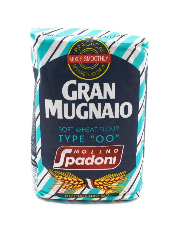 Gran Mugnaio Soft Wheat Type '00' Flour for Pasta and Cakes - Baking Essentials - Buon'Italia