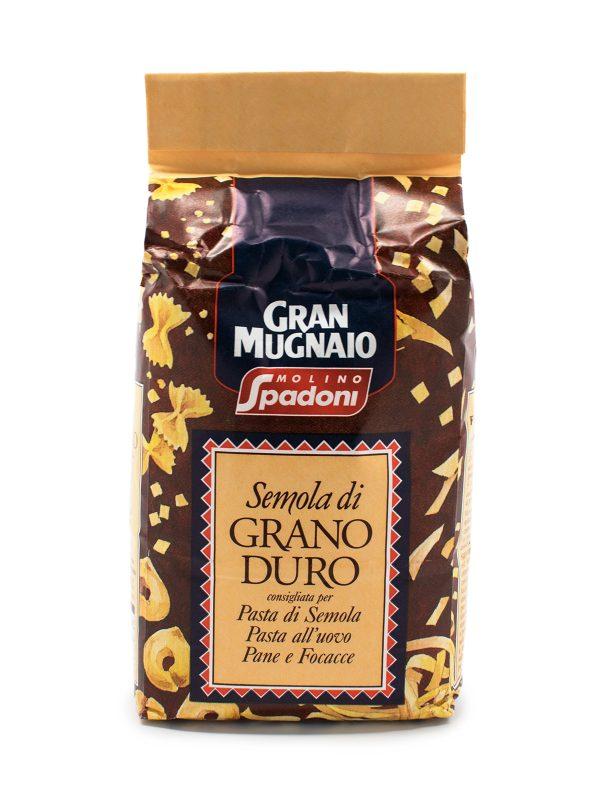 Gran Mugnaio Durum Wheat Semolina Flour - Baking Essentials - Buon'Italia