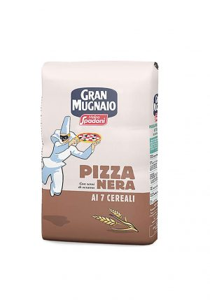 Gran Mugnaio Dark 7 Grain Pizza Flour - Baking Essentials - Buon'Italia