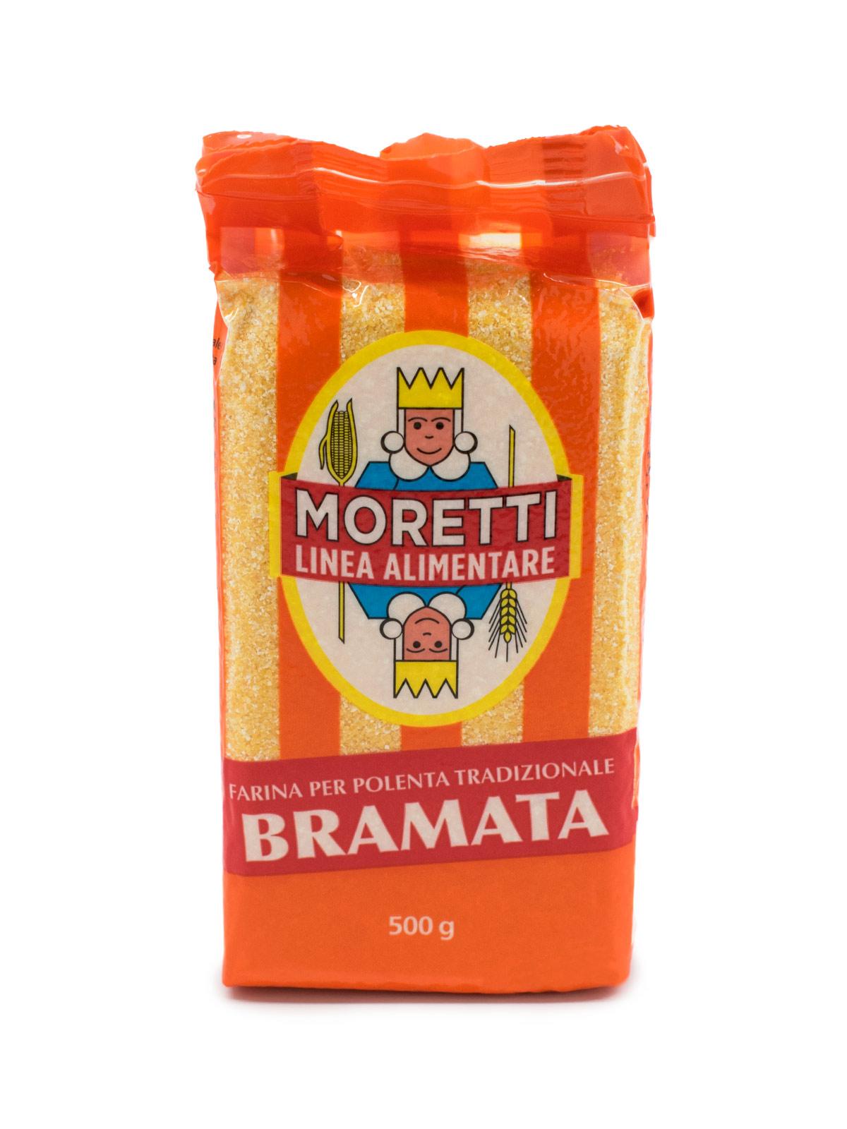 Moretti Bramata Polenta - Pastas, Rice, and Grains - Buon'Italia
