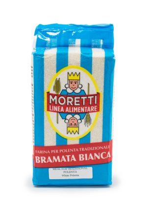 Moretti Bramata Bianca Polenta - Pastas, Rice, and Grains - Buon'Italia