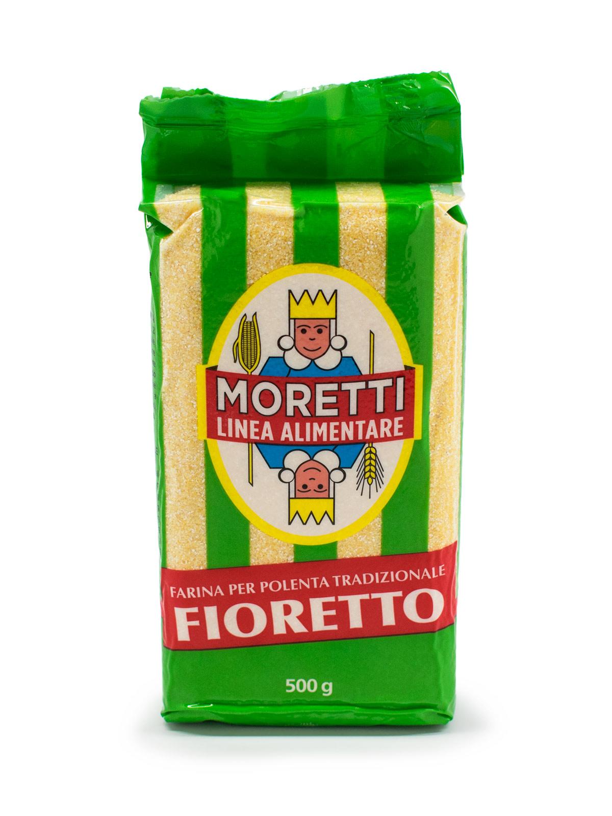 Moretti Fioretto Polenta - Pastas, Rice, and Grains - Buon'Italia