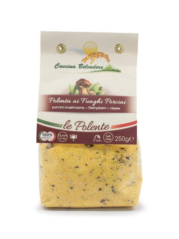 Polenta with Porcini Mushrooms - Pastas, Rice, and Grains - Buon'Italia