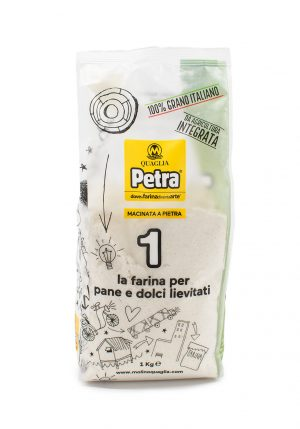 PETRA 1 Flour for Leavened Bread and Desserts - Baking Essentials - Buon'Italia