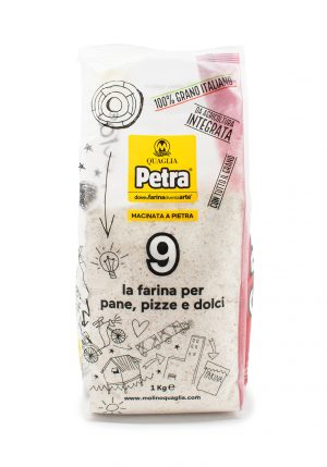 PETRA 9 Whole Wheat Flour for Bread, Pizza and Desserts - Baking Essentials - Buon'Italia