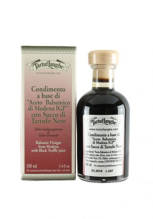 Balsamic Vinegar with Black Truffle Juice - Oils & Vinegars - Buon'Italia