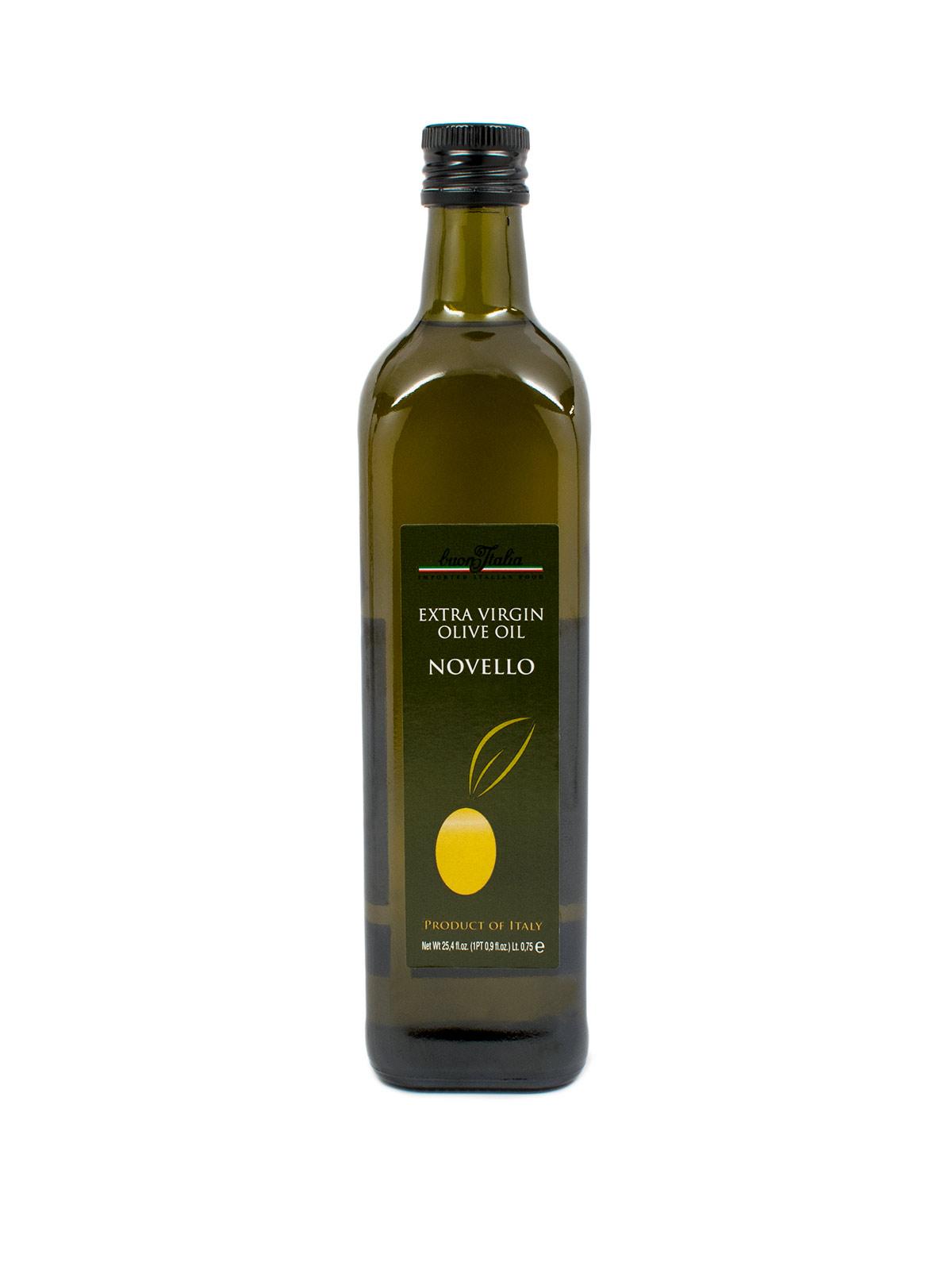 Buon'Italia Novello Extra Virgin Olive Oil - Oils & Vinegars - Buon'Italia
