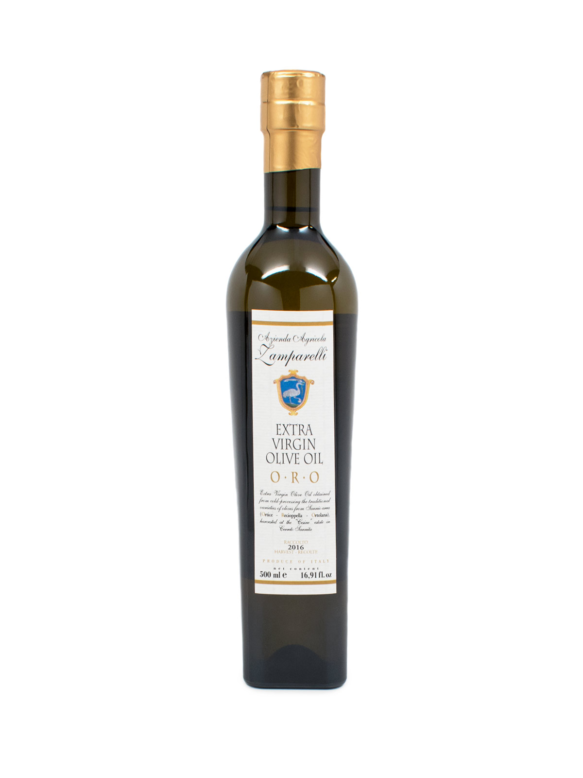 Zamparelli Oro Extra Virgin Olive Oil - Oils & Vinegars - Buon'Italia