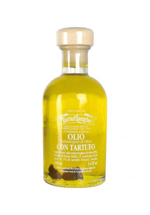 Extra Virgin Olive Oil with Summer Truffle Slices - Oils & Vinegars - Buon'Italia