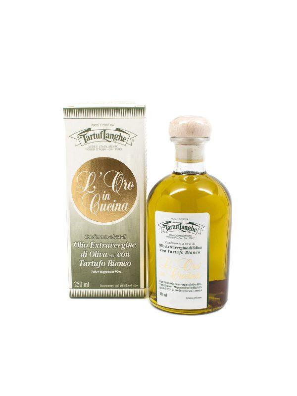 Extra Virgin Olive Oil with White Truffle - Oils & Vinegars - Buon'Italia