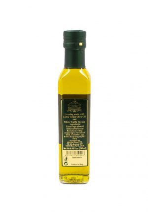 White Truffle Flavored Oil - Oils & Vinegars - Buon'Italia