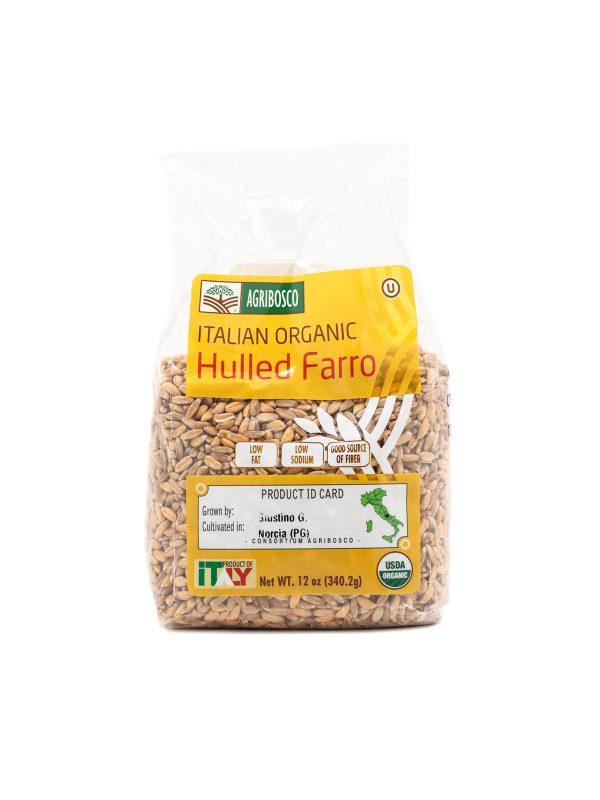 Italian Organic Hulled Farro - Pastas, Rice, and Grains - Buon'Italia