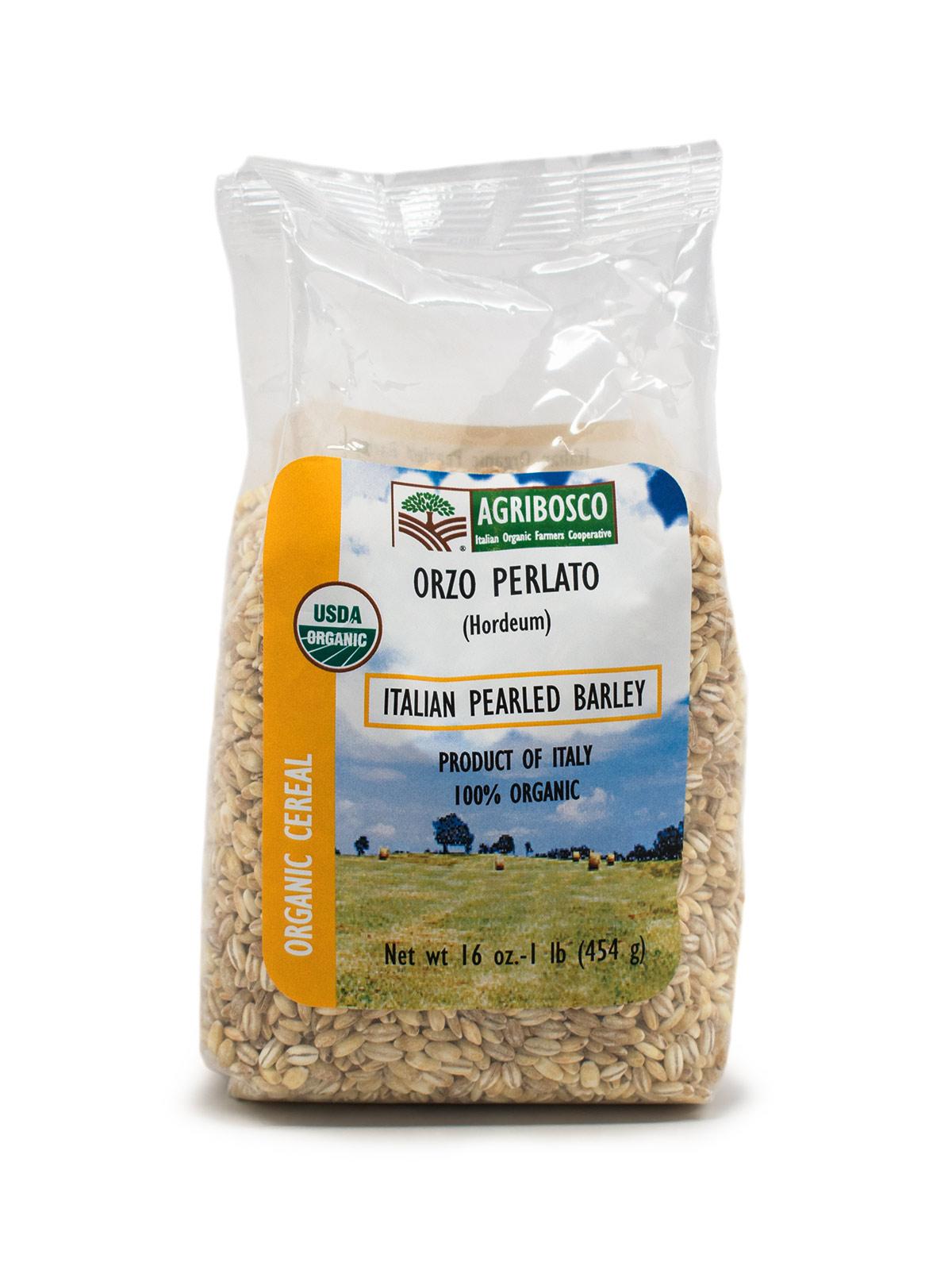 Organic Italian Pearled Barley - Pastas, Rice, and Grains - Buon'Italia
