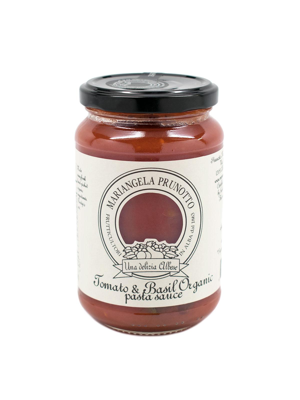 Organic Tomato and Basil Pasta Sauce - Pantry - Buon'Italia
