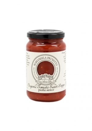 Organic Tomato Pasta Sauce with Sweet Peppers - Pantry - Buon'Italia