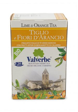 Lime and Orange Blossom Tea - Beverages - Buon'Italia
