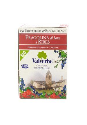 Wild Strawberry and Blackcurrant Tea - Beverages - Buon'Italia