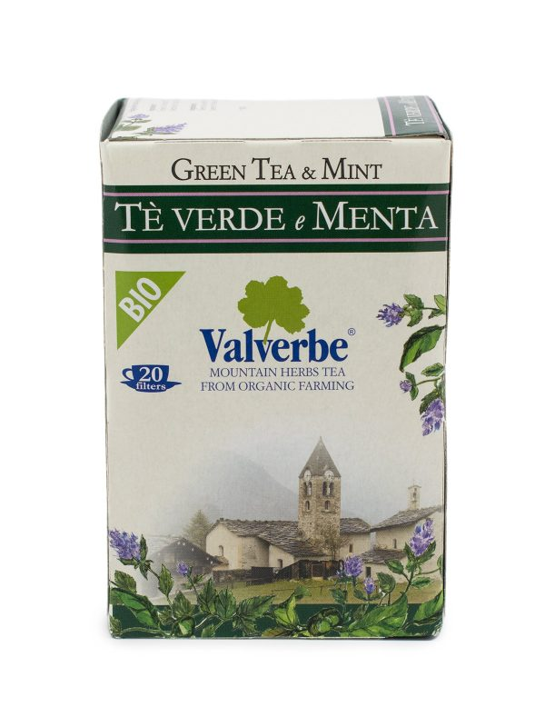 Green Tea with Mint - Beverages - Buon'Italia