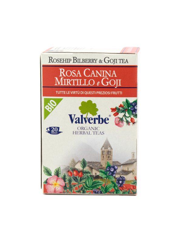 Rosehip, Bilberry, and Goji Tea - Beverages - Buon'Italia