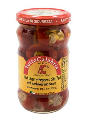 Hot Peppers with Anchovies & Capers - Vegetables - Buon'Italia