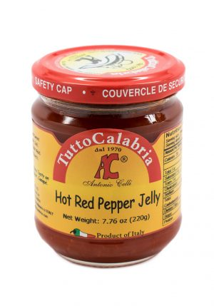 Hot Red Peppers Jelly - Vegetables - Buon'Italia