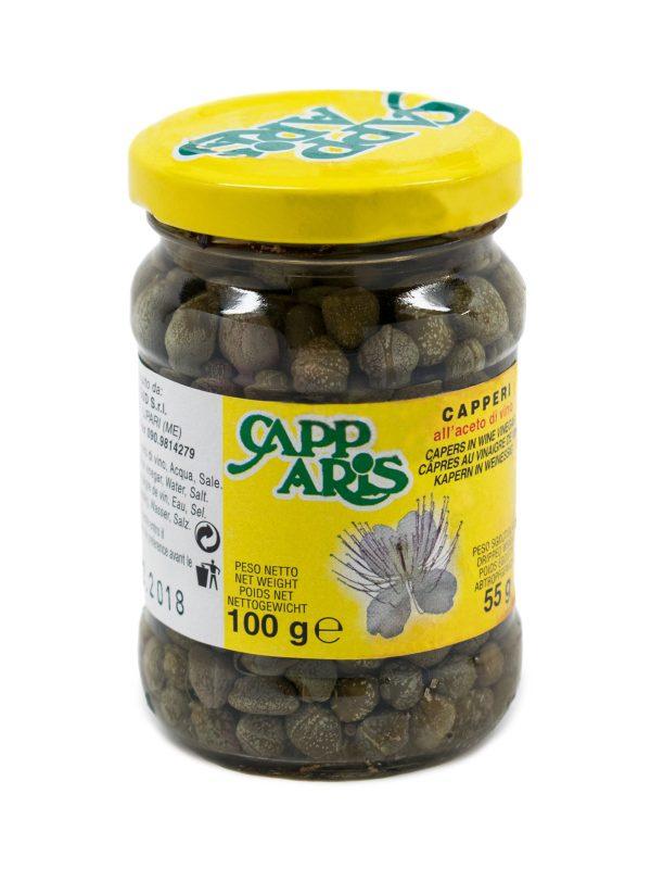 Capers in Vinegar #4/7 - Pantry - Buon'Italia