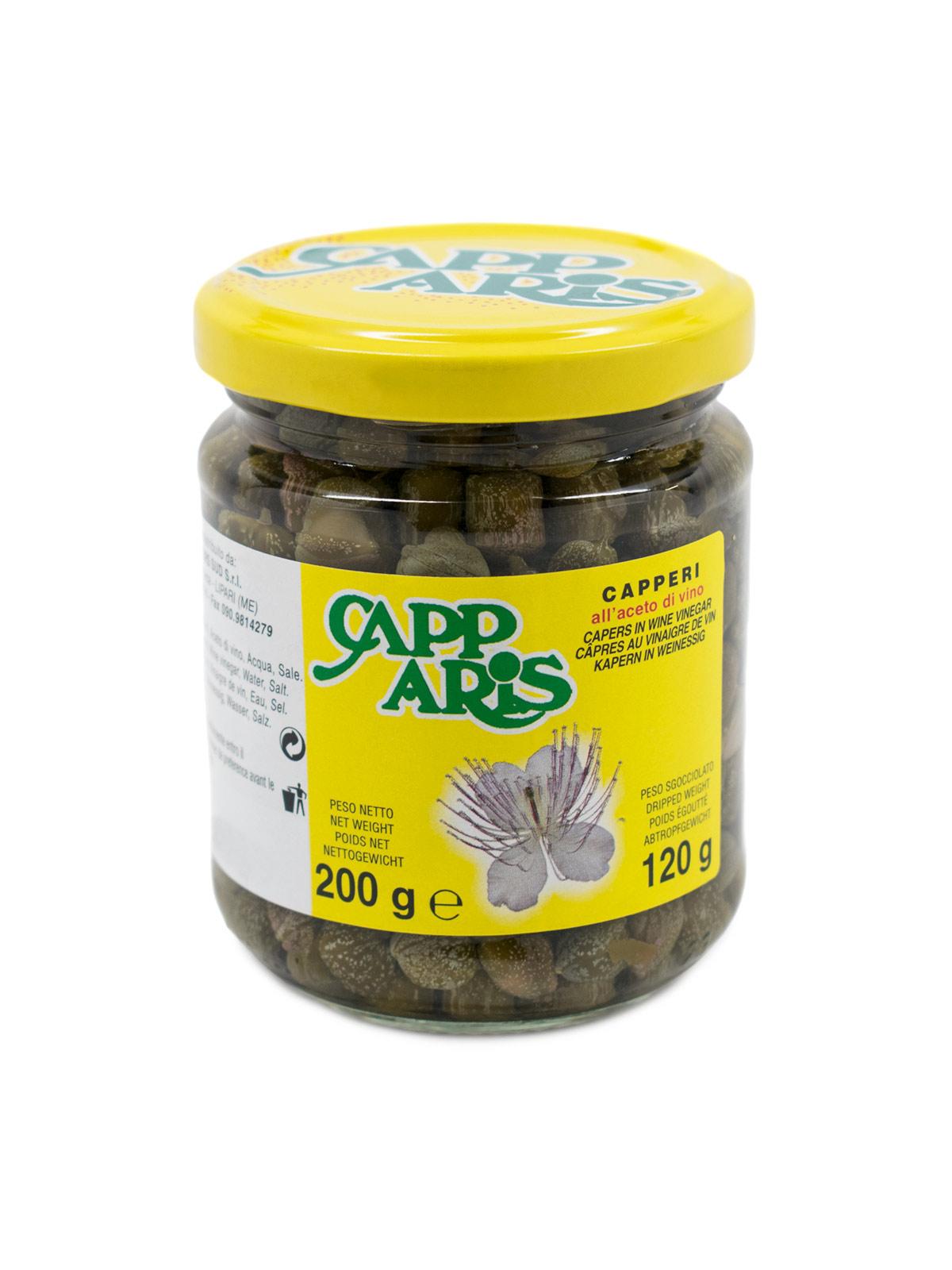 Capers in Vinegar #8/9 - Pantry - Buon'Italia