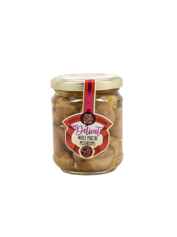 Whole Porcini Mushrooms - Vegetables - Buon'Italia