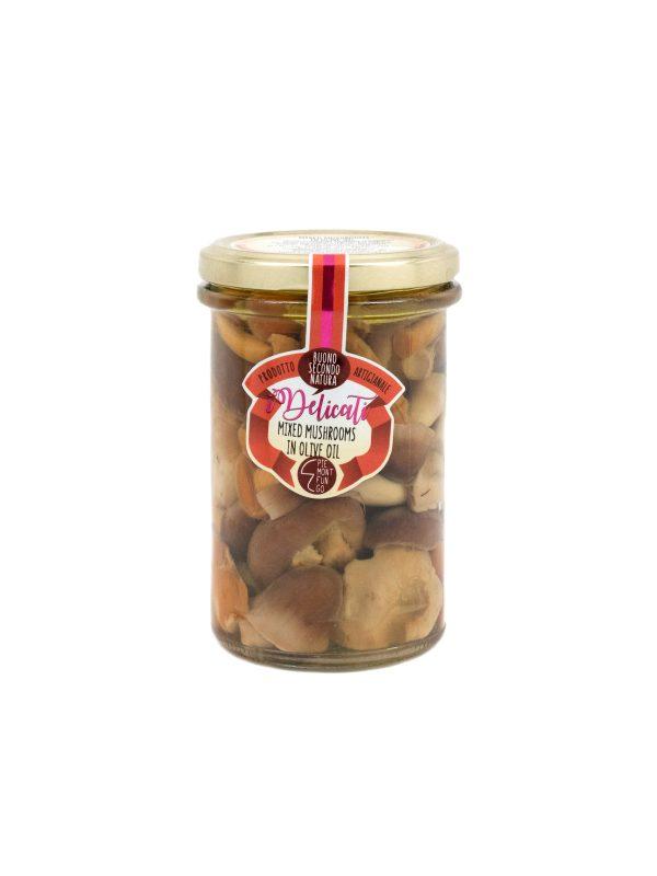 Mixed Mushrooms in Olive Oil - Vegetables - Buon'Italia
