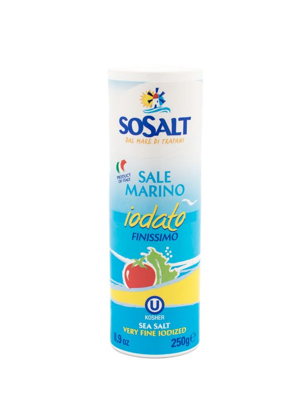 Super Fine Iodized Sea Salt - Pantry - Buon'Italia