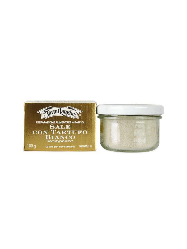 Salt fromGuérande with White Truffle - Truffles - Buon'Italia