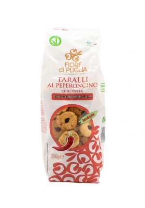 Taralli Chili Pepper Flavor - Sweets, Treats & Snacks - Buon'Italia