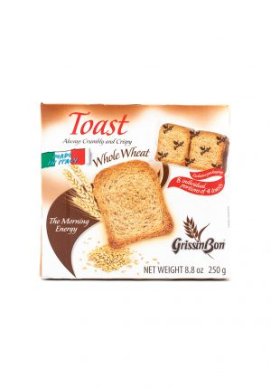 Whole Wheat Toasts - Sweets, Treats & Snacks - Buon'Italia